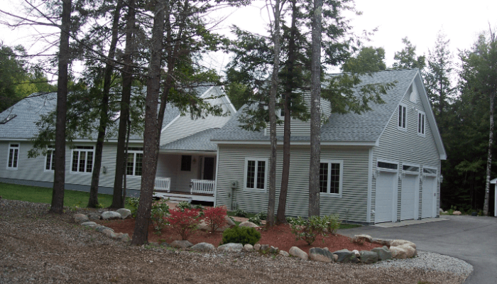 Four Season Deck Addition located on Davis Hill in Center Conway, NH